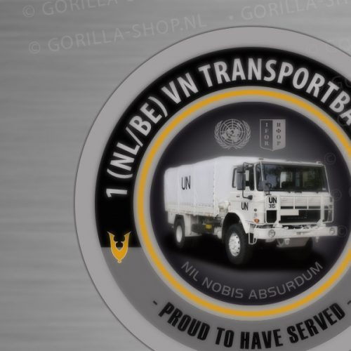 sticker 1 NL/BE VN Transportbataljon