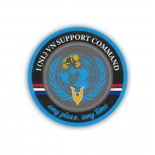 sticker 1 (NL) UN Support Command