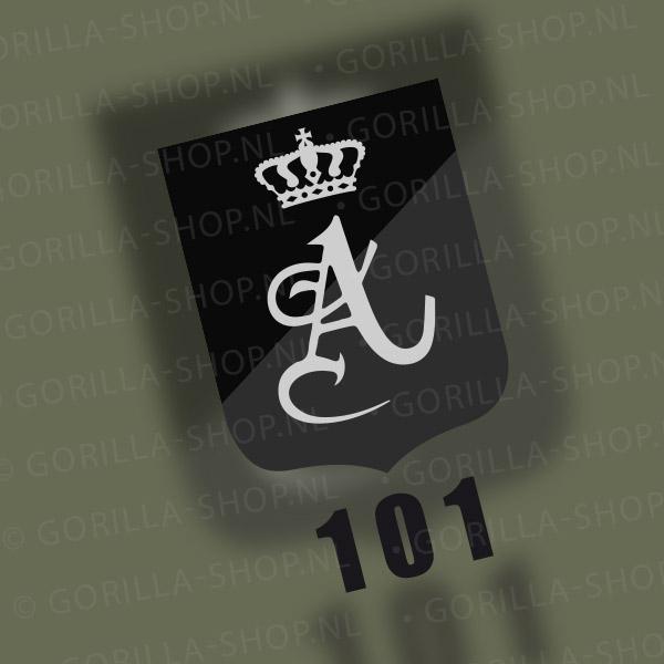 T-shirt 101 Tankbataljon