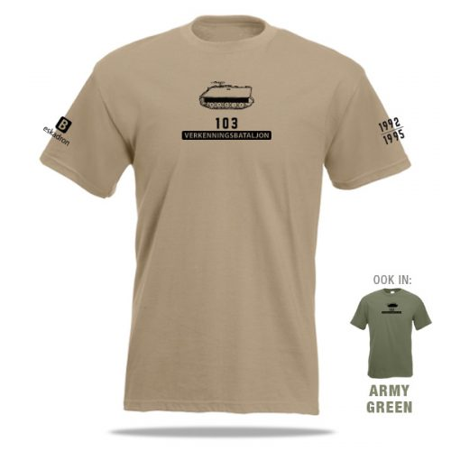 T-shirt 103 Verkenningsbataljon