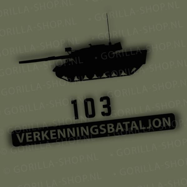 Leopard 11, 103 Verkenningsbataljon