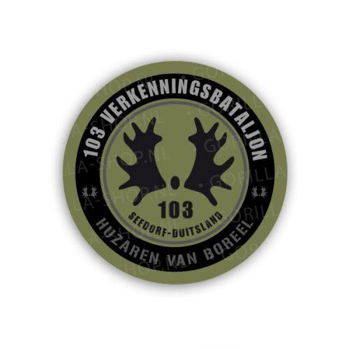 Sticker 103verkbat
