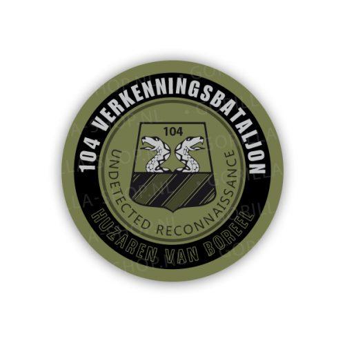 sticker 104 verkenningsbataljon
