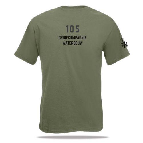 Defensie T-shirt Genietroepen