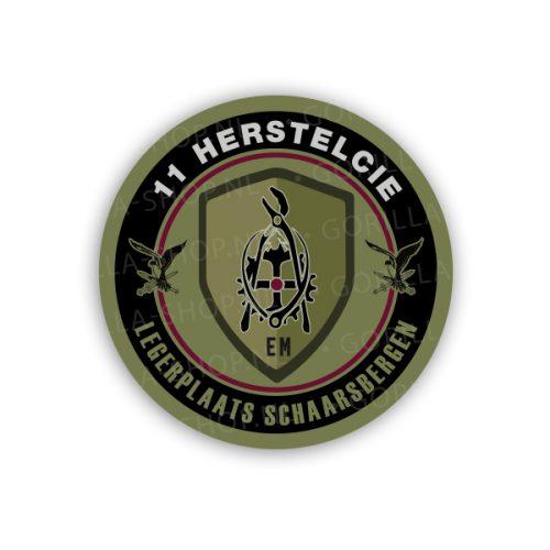 11 herstelcie sticker