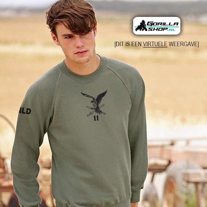 sweater 11 luchtmobiele brigade