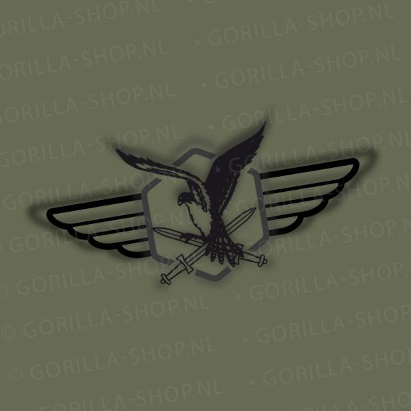 t-shirt luchtmobiele brigade