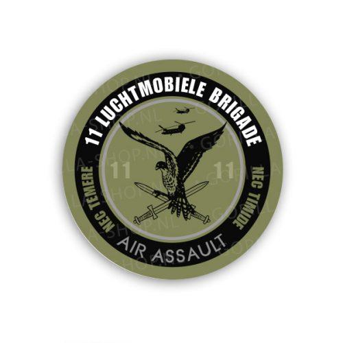 Sticker 11 luchtmobiele brigade