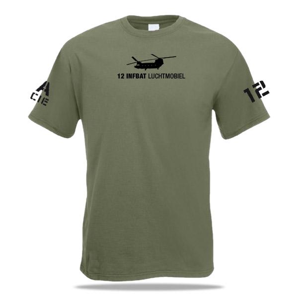 shirt 12e infanterie bataljon