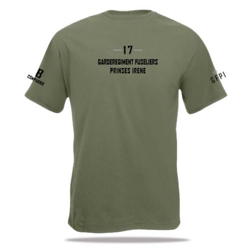 t-shirt 17 pantserinfanterie Bataljon (GFPI)