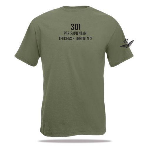 Defensie t-shirt 301 squadron