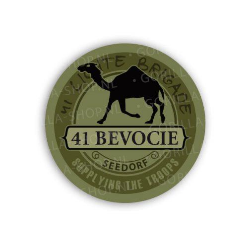 41 bevo sticker