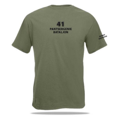 41 pantsergenie bataljon t-shirt