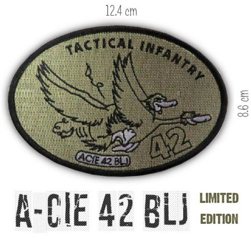 Patch 42 BLJ A-cie