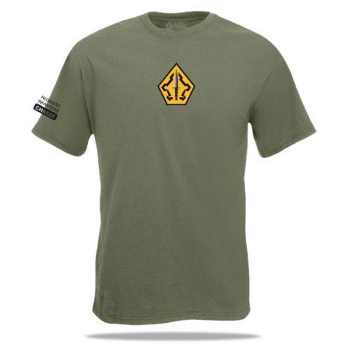 shirt van het 43e pantserinfanterie bataljon
