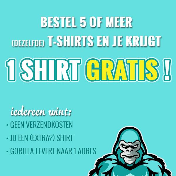 gratis T-shirt Defensie