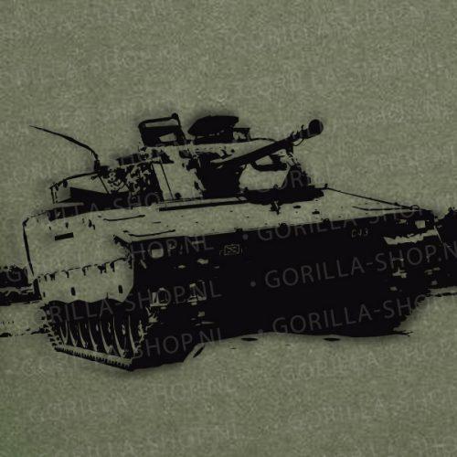 CV90 Defensie t-shirt