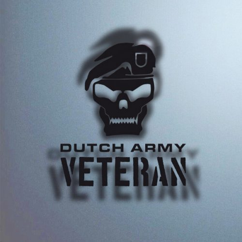 Sticker voor veteranen