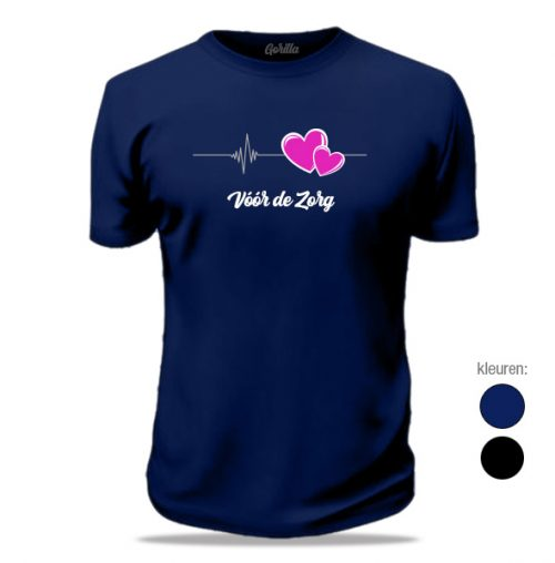 Bedrukte zorg t-shirts