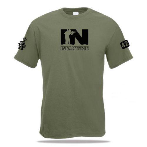 t-shirt infanterie