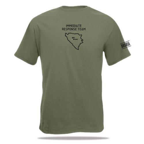 t-shirt IRT, Bosnië