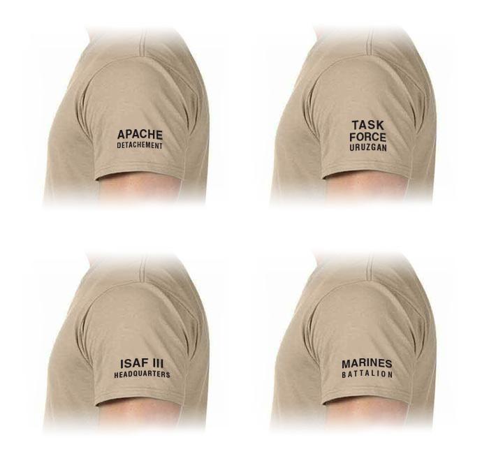 mouw ISAF t-shirt