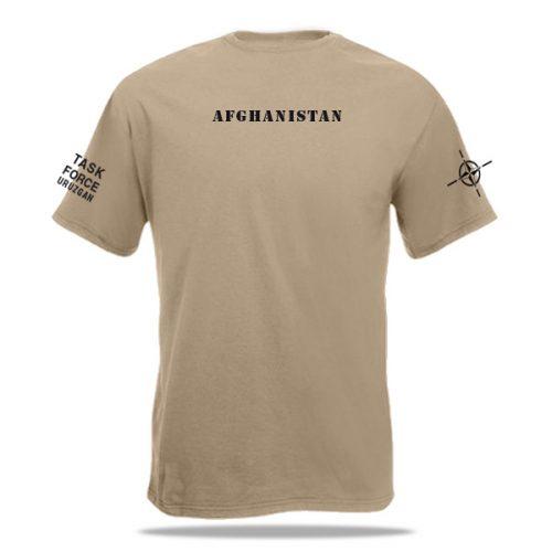rugzijde t-shirt ISAF