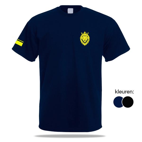 bedrukt t-shirt ministerie van Justitie