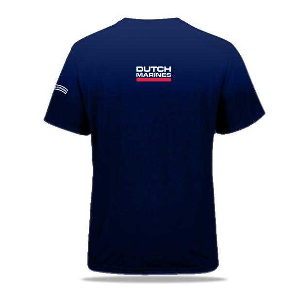 Blauw t-shirt Mariniers Dutch Marines