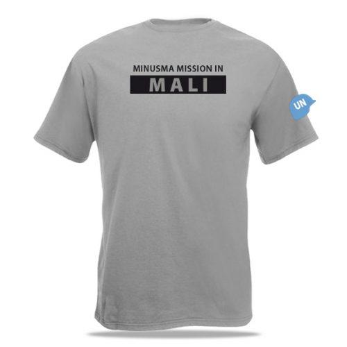 Achterzijde Mali - Minusma T-shirt