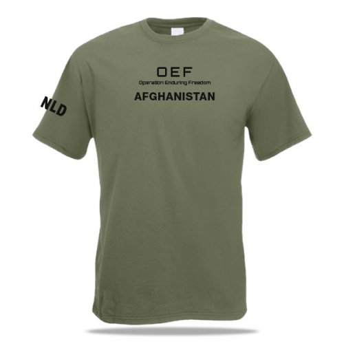 OEF Afghanistan T-shirt