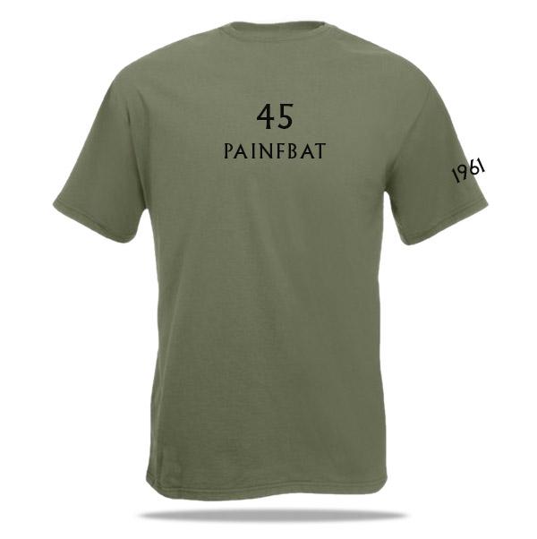 T-shirt 45 painfbat (RIOG)