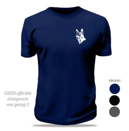 T-shirt Politiehond
