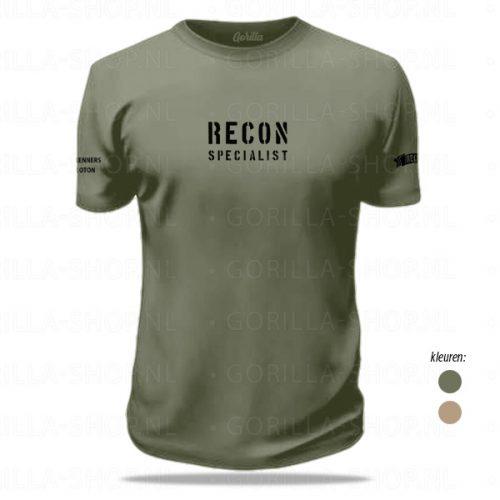 verkenners t-shirt defensie