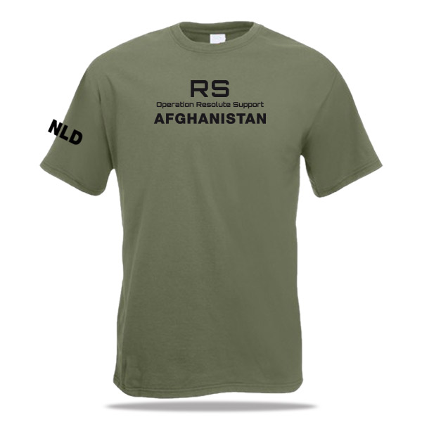 Shirt Resolute Support - Afghanistan
