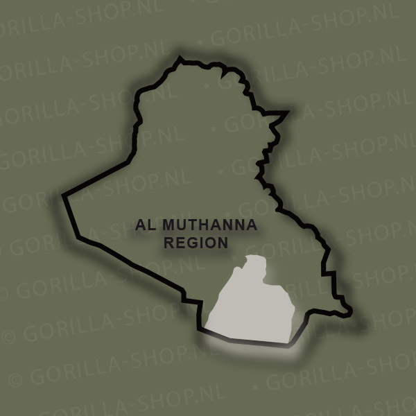 Bedrukt Irak t-shirt