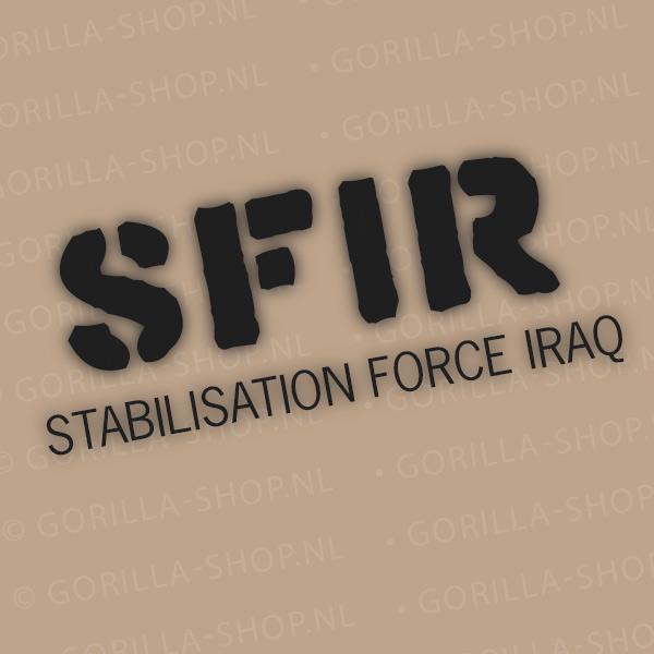 SFIR bedrukking