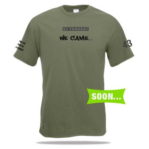 Tankbataljon t-shirt