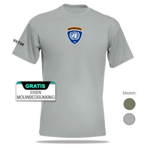 Missie t-shirt van verschillende VN missies