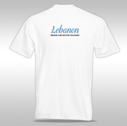Unifil T-shirt (libanon)