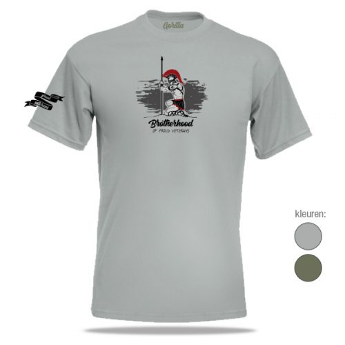 Brotherhood veteranen t-shirt