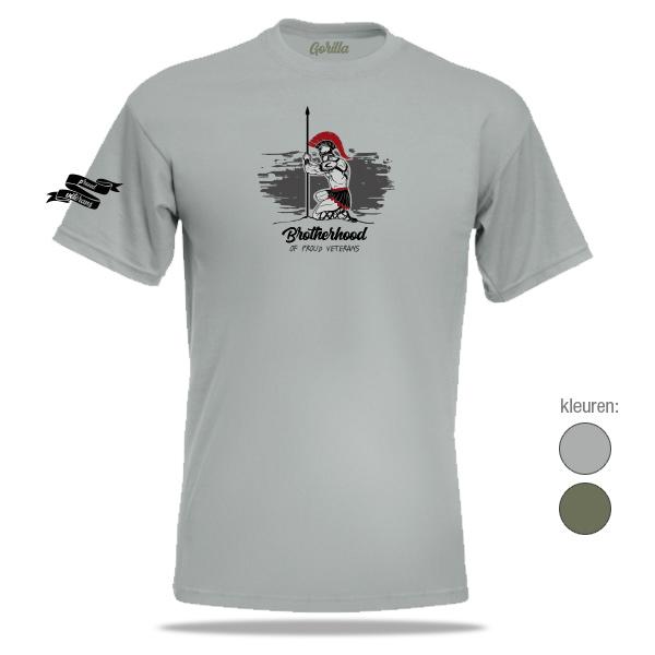 Brotherhood veteranen t-shirt