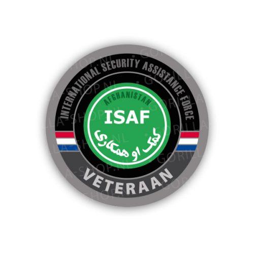 veteraan ISAF sticker