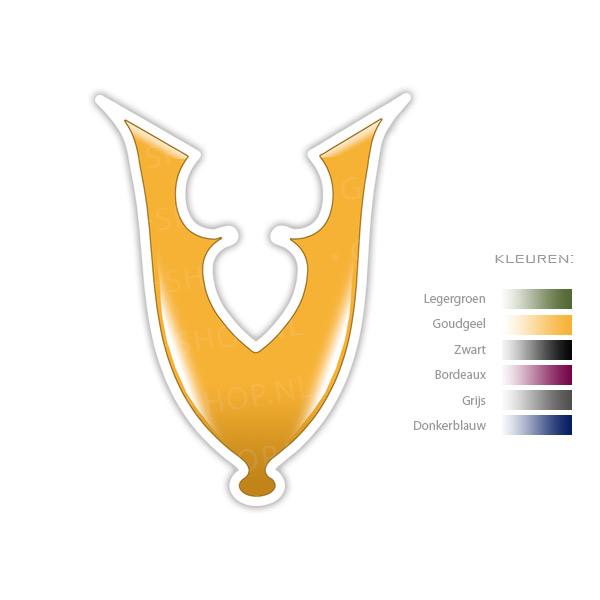 veteraan sticker (symbool)