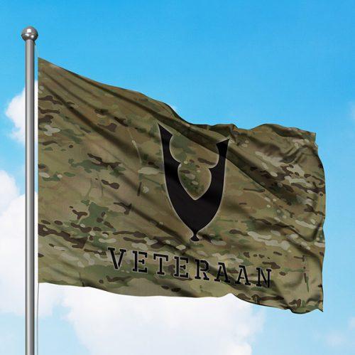 veteranenvlag multicam