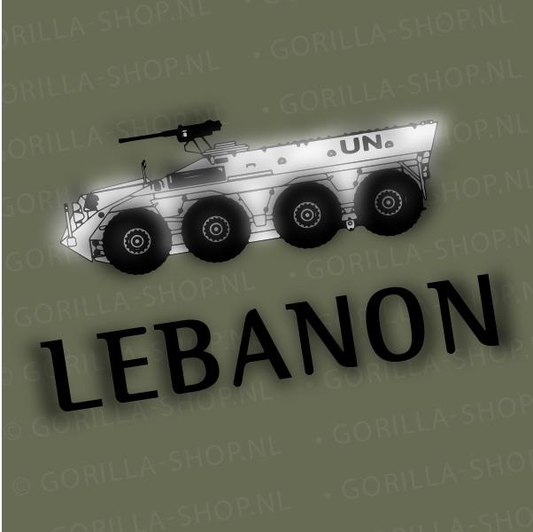 YP-voertuig UNIFIL Libanon