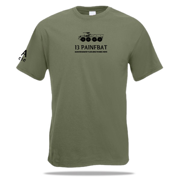 T-shirt YP Pantserinfanterie