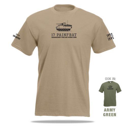 YPR t-shirt pantserinfanterie