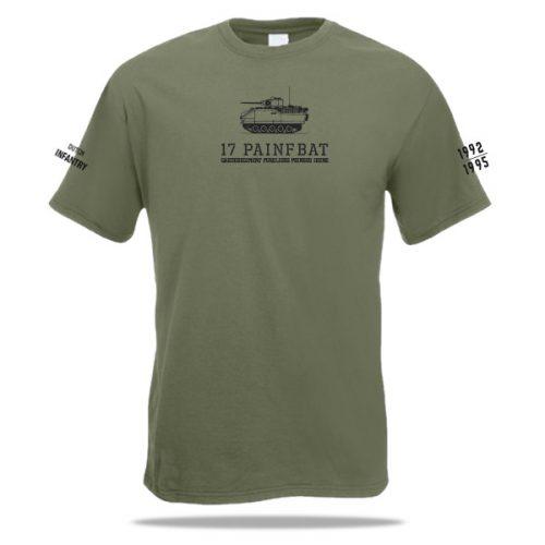 Pantserinfanterie t-shirt