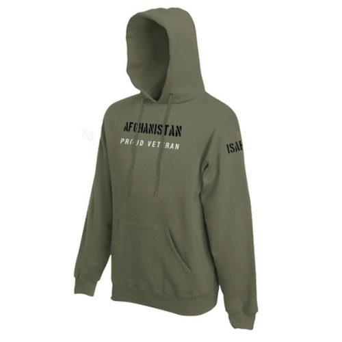 Hoodie Afghanistan (ISAF / OEF / RS missie)